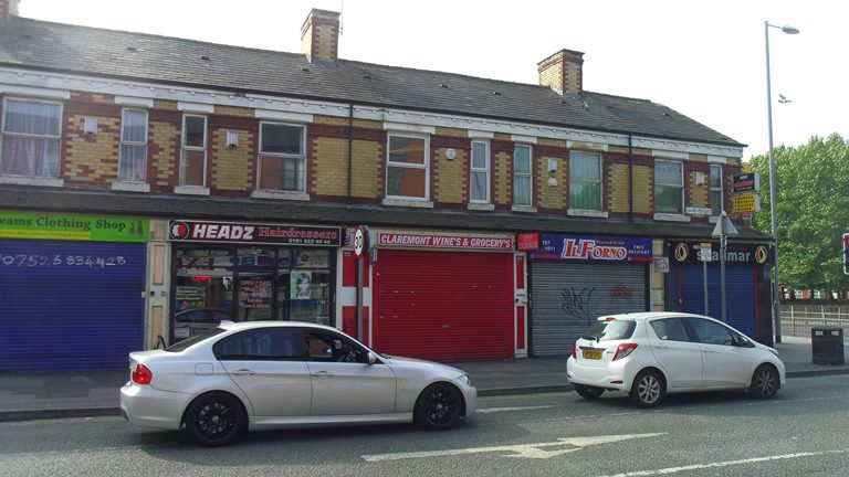 Claremont Road, Moss Side M14