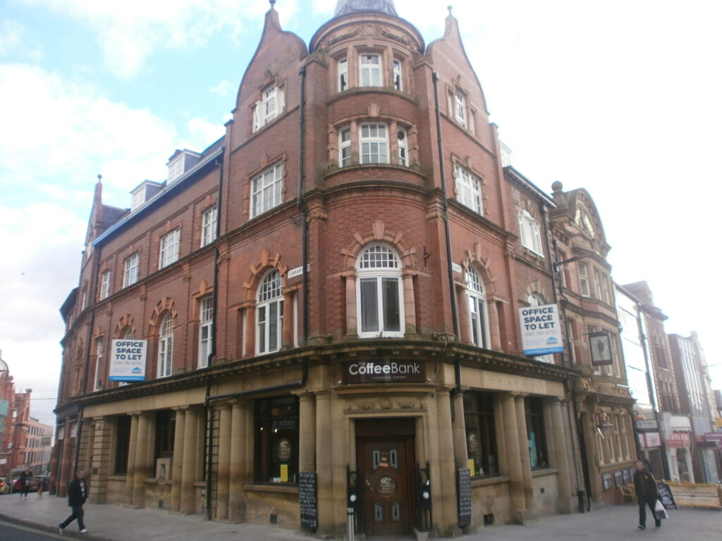 Bank Chambers, Library Street - Wigan